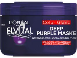 L OREAL PARIS ELVITAL Color Glanz Deep Purple Maske