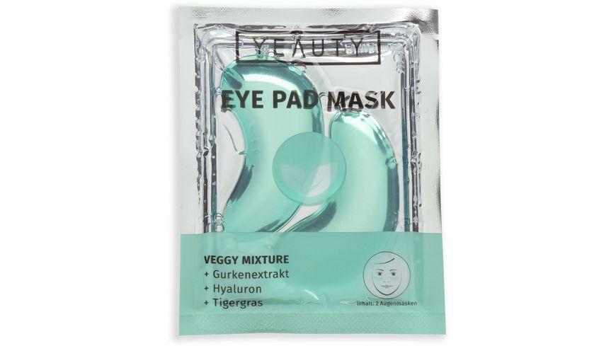 YEAUTY Eye Pad Mask Veggy Mixture