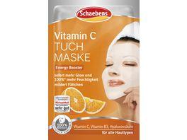 Schaebens Vitamin C Tuch Maske