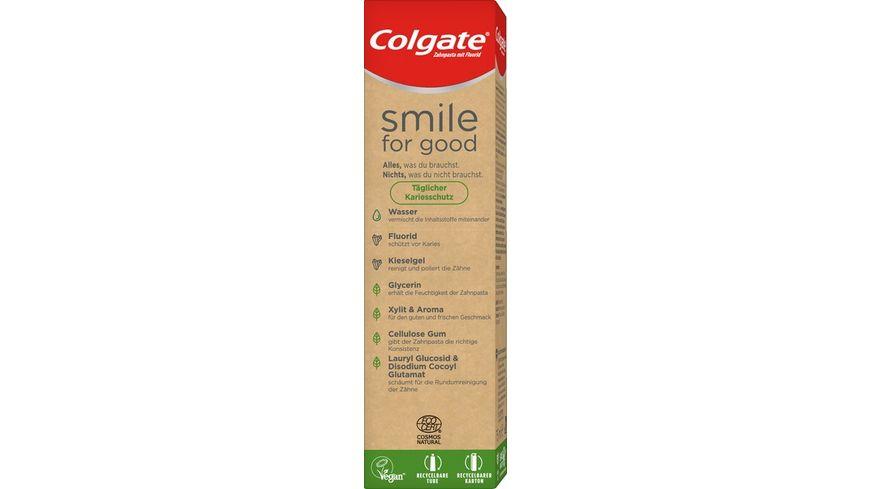 Colgate Smile for Good Taeglicher Kariesschutz Zahnpasta