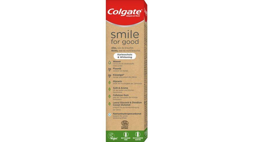 Colgate Smile for Good Kariesschutz Whitening Zahnpasta