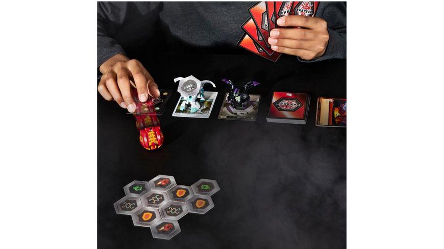Spin Master Bakugan Starter Pack mit 3 Bakugan 1 Ultra 2 Basic Balls 1 Stueck sortiert
