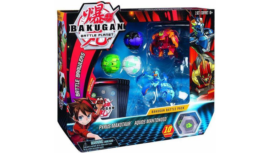 Spin Master Bakugan Battle Pack mit 5 Bakugan 2 Ultra 3 Basic Balls 1 Stueck sortiert