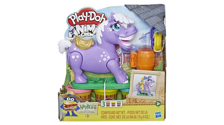 Hasbro Play Doh Animal Crew Naybelle Showpony