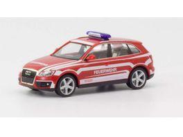 Herpa 094696 Audi Q5 Kommandowagen Feuerwehr Lindau