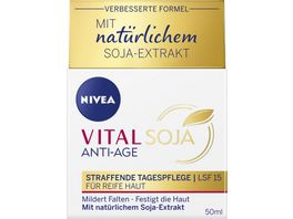 NIVEA VITAL SOJA Straffende Tagespflege LSF 15