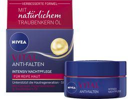 NIVEA VITAL Anti Falten Intensiv Nachtpflege