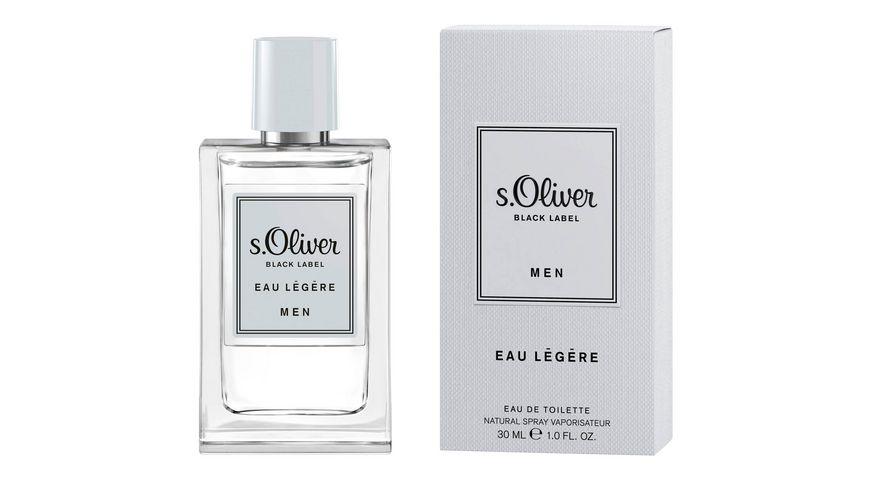 s Oliver Black Label Eau Legere Men Eau de Toilette