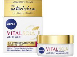 NIVEA VITAL SOJA Schuetzende Tagespflege LSF30