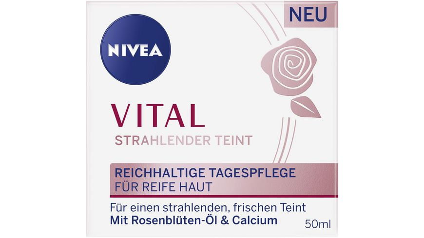 NIVEA VITAL Strahlender Teint Reichhaltige Tagespflege
