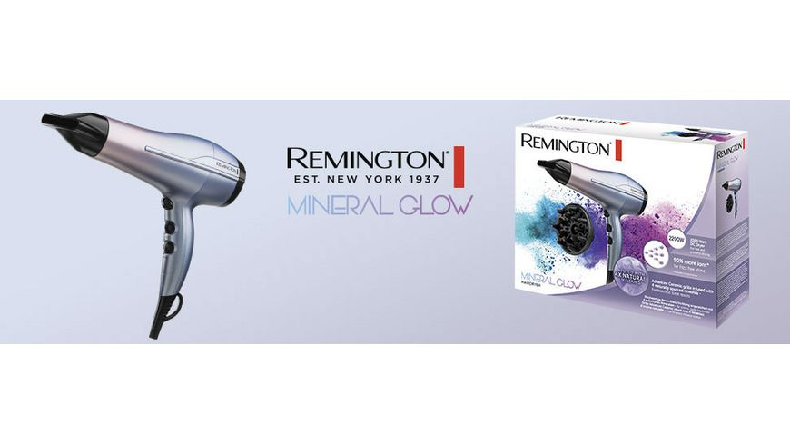 REMINGTON Mineral Glow Haartrockner D5408