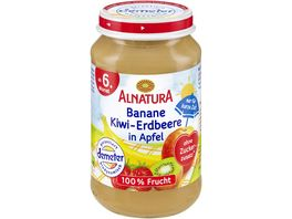 Alnatura Banane Kiwi Erdb in Apfel Baby 1