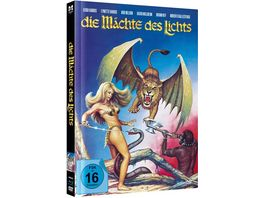 Die Maechte des Lichts Uncut Limited Mediabook Edition Blu ray DVD plus Booklet digital remastered