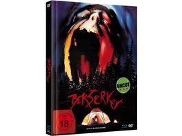 Berserker Limited Mediabook Edition Blu ray DVD plus Booklet digital remastered