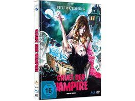 Gruft der Vampire Limited Mediabook Edition HD neu abgetastet DVD Booklet