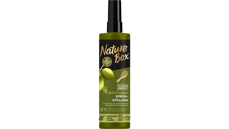 NATURE BOX Sprueh Spuelung Oliven Oel