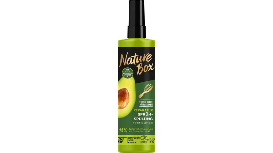 NATURE BOX Sprueh Spuelung Avocado Oel