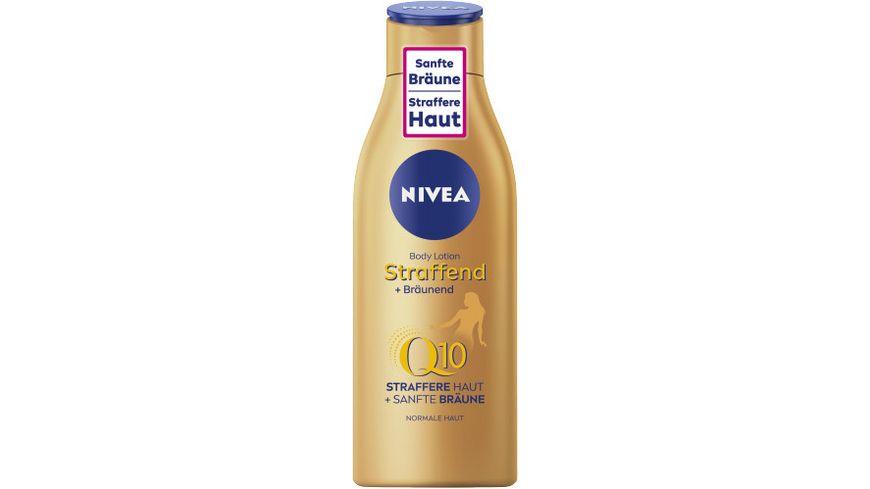 NIVEA Body Lotion Straffend + Bräunend Q10