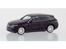 Herpa 038966 Mercedes Benz EQC AMG mattschwarz