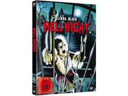Hell Night Mediabook Limited New Edition 2020 Blu ray DVD plus Booklet inkl VHS Fassung