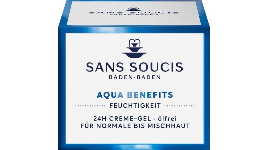 SANS SOUCIS Aqua Benefits 24h Creme Gel oelfrei