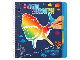 Dino World Magic Scratch Book UNDERWATER