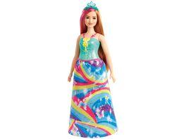 Mattel Barbie Dreamtopia Prinzessinnen Puppe rotblond und pinkfarbenes Haar