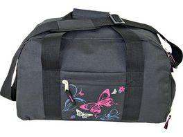 ELEPHANT Sporttasche schwarz pink