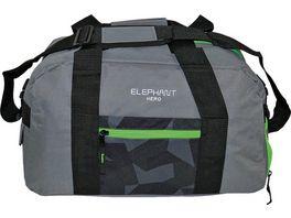 ELEPHANT Sporttasche grau schwarz gruen