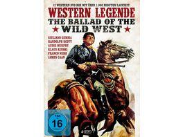 Western Legende The Ballad of Wild West 4 DVDs