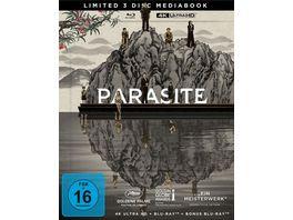 Parasite Mediabook A 4K Ultra HD Blu ray Bonus Blu ray