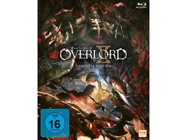 Overlord Complete Edition Staffel 2 3 BRs