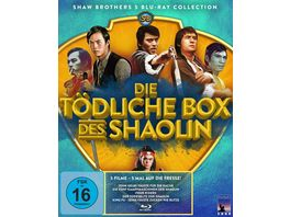 Die toedliche Box des Shaolin Shaw Brothers Collection 5 Blu rays