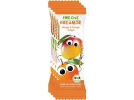 Freche Freunde Bio Frecher Riegel Mango Orange 4x23g