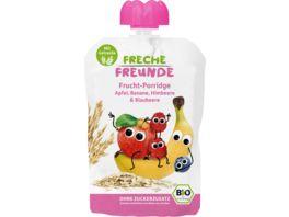 Freche Freunde Bio Frucht Porridge Apfel Banane Himbeere Blaubeere