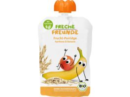 Freche Freunde Bio Frucht Porridge Aprikose Banane