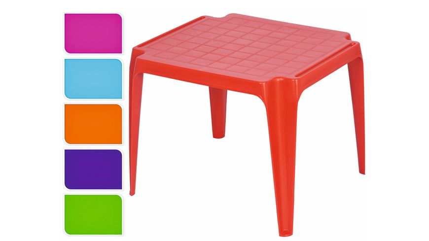 Koopman Kindertisch 1 Stueck farblich sortiert