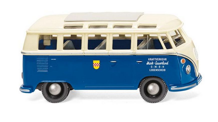 WIKING 079726 VW T1 Sambabus Mark Sauerland 1 87