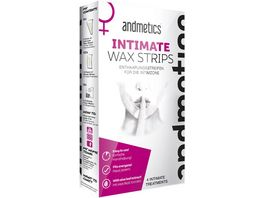 andmetics Intimate Wax Strips