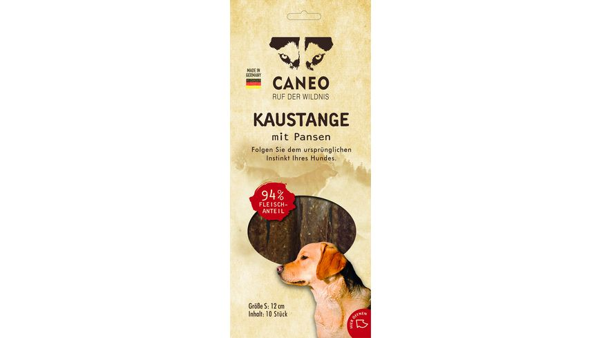 CANEO native Kaustange Pansen 10x12 cm