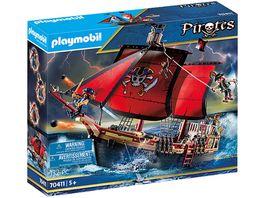 PLAYMOBIL 70411 Pirates Totenkopf Kampfschiff