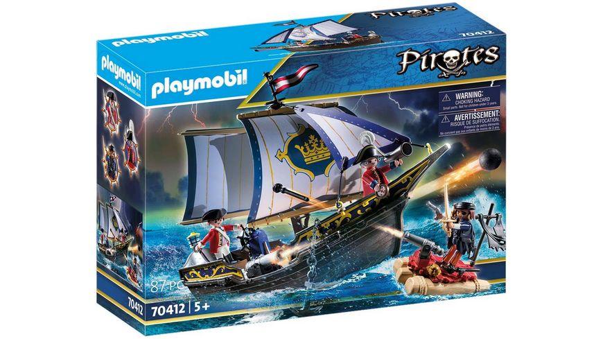 PLAYMOBIL 70412 - Pirates - Rotrocksegler