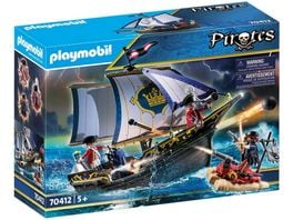 PLAYMOBIL 70412 Pirates Rotrocksegler