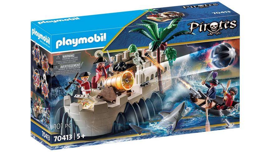PLAYMOBIL 70413 - Pirates - Rotrockbastion