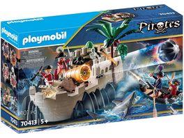 PLAYMOBIL 70413 Pirates Rotrockbastion