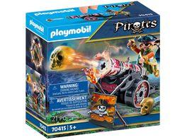 PLAYMOBIL 70415 Pirates Pirat mit Kanone