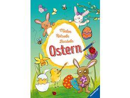 Malen Raetseln Basteln Ostern