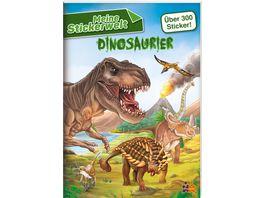 Meine Stickerwelt Dinosaurier
