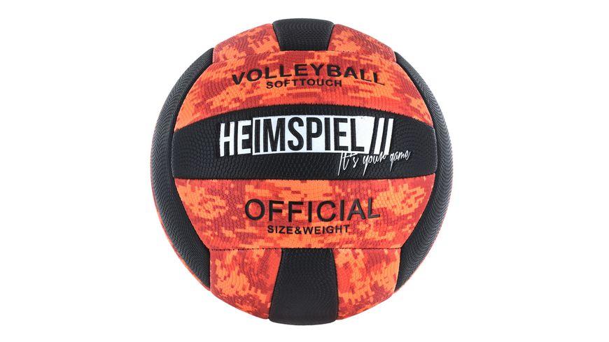 HEIMSPIEL Volleyball Pixel Gr 5 5 fach sortiert