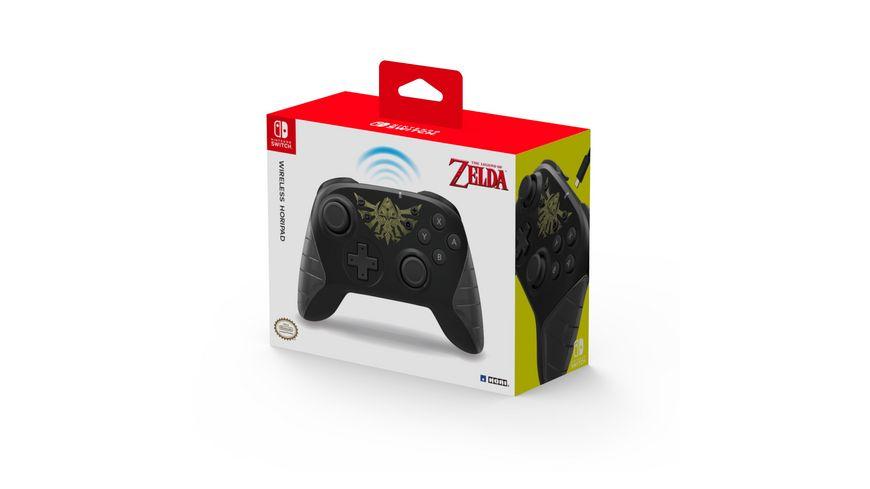 Wireless Switch Controller- Zelda (USB-C)